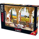 Пазл Anatolian Виноградные поля, 1500 элементов