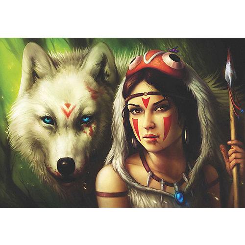 Пазл Anatolian Принцесса и волк, 500 элементов от Anatolian
