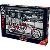Пазл Anatolian Красный мотоцикл, 1000 элементов