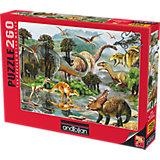 Пазл Anatolian Долина Динозавров II, 260 элементов