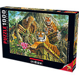 Пазл Anatolian Храм тигров, 1000 элементов