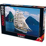 Пазл Anatolian Белые паруса, 1000 элементов