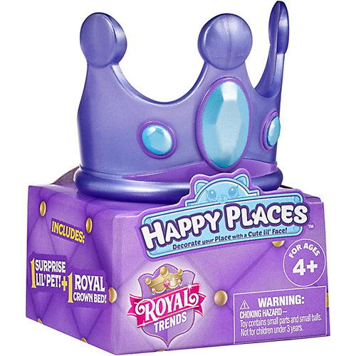 """Игровой набор Moose """"Королевская мода"""" с питомцем, фиолетовый от Moose"""