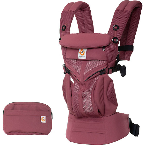 Babytrage Omni 360°, Cool Air Mesh, Plum