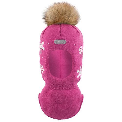 Шапка-шлем  BJÖRKA - розовый от BJÖRKA