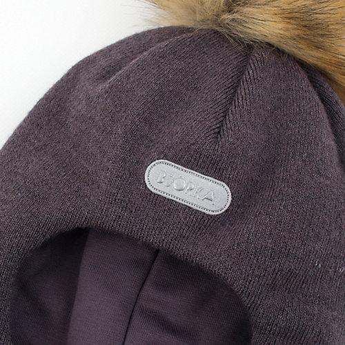 Шапка-шлем  BJÖRKA - антрацит от BJÖRKA