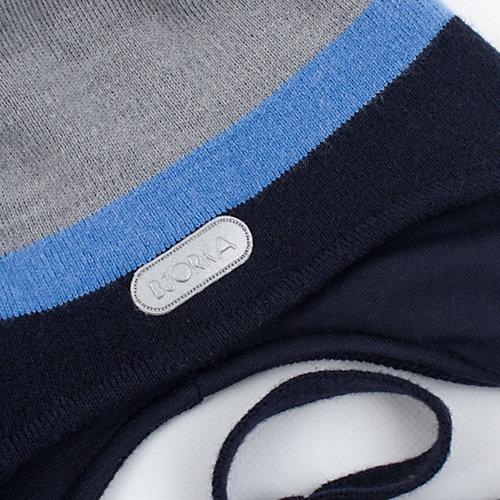 Шапка BJÖRKA - сине-серый от BJÖRKA