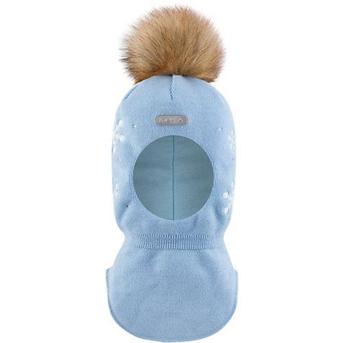 Шапка-шлем  BJÖRKA - голубой от BJÖRKA