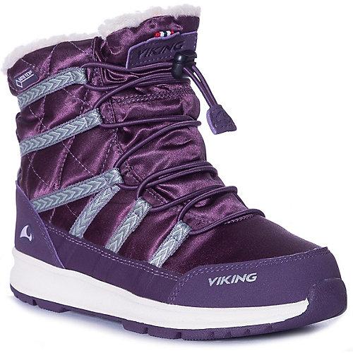 Ботинки Viking Flinga Kids GTX - фиолетовый от VIKING