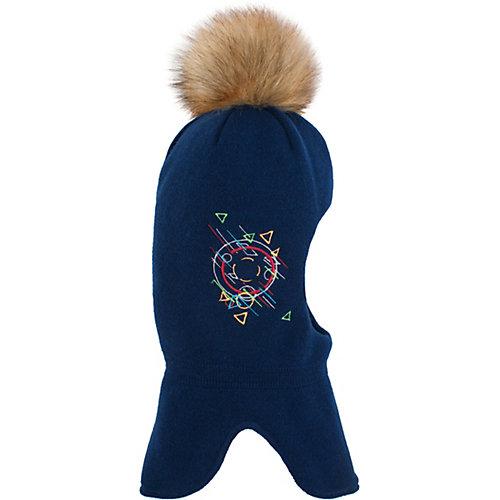Шапка-шлем Gusti - синий от Gusti