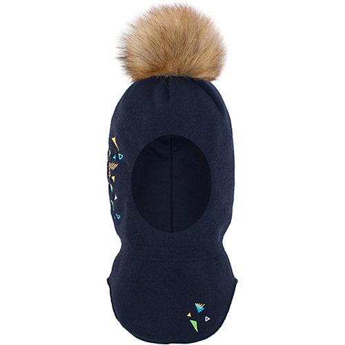 Шапка-шлем Gusti - темно-синий от Gusti