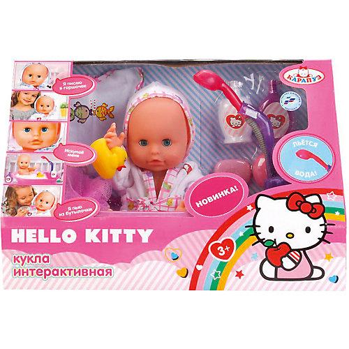 Интерактивный пупс Карапуз Hello Kitty с ванной и аксессуарами, 33 см от Карапуз