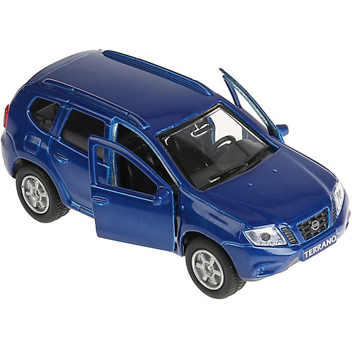 "Машинка ""Технопарк"" Nissan Terrano, инерционная, 12 см, синяя от ТЕХНОПАРК"