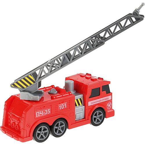 """Пожарная машина """"Технопарк"""", свет и звук, 17 см от ТЕХНОПАРК"""