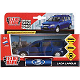 """Машинка """"Технопарк"""" Lada Largus, инерционная, 12 см, синяя"""