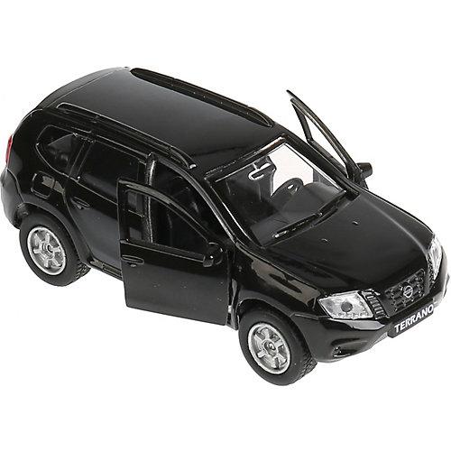 """Машинка """"Технопарк"""" Nissan Terrano, инерционная, 12 см, черная от ТЕХНОПАРК"""