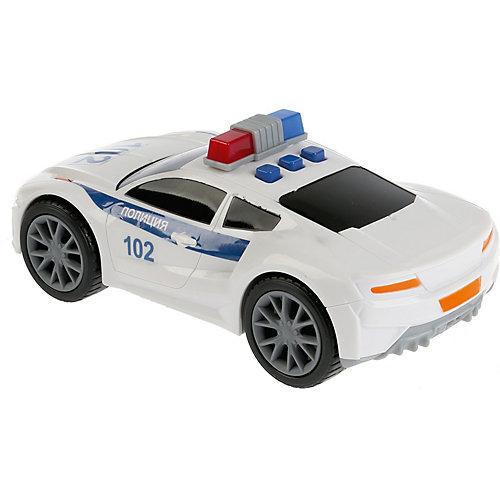 "Машинка Технопарк ""Спорткар полиция"", свет и звук, 19 см от ТЕХНОПАРК"