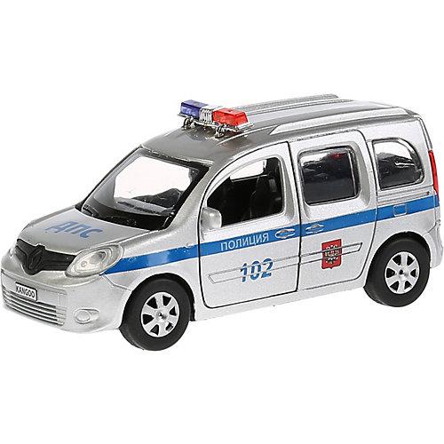 """Машинка Технопарк """"Renault Kangoo полиция"""", инерционная, 12 см от ТЕХНОПАРК"""