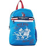 Рюкзак U.S. Polo Assn, голубой