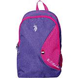 Рюкзак U.S. Polo Assn, фиолетовый