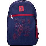 Рюкзак U.S. Polo Assn, тёмно-синий