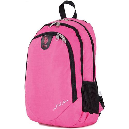 Рюкзак U.S. Polo Assn, розовый - розовый от U.S. POLO ASSN.