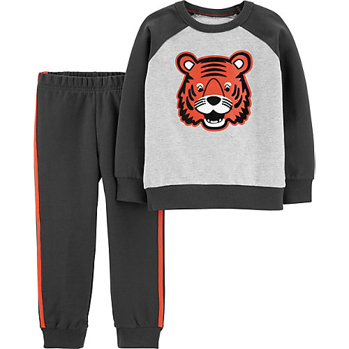 Комплект carter`s: свитшот и брюки - серый от carter`s