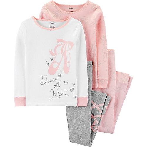 Пижама carter`s, 2 шт. - розовый от carter`s
