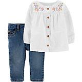 Комплект carter`s: туника и джинсы