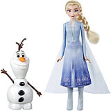 """Игровой набор Disney Princess """"Холодное сердце 2"""" Эльза и Олаф"""