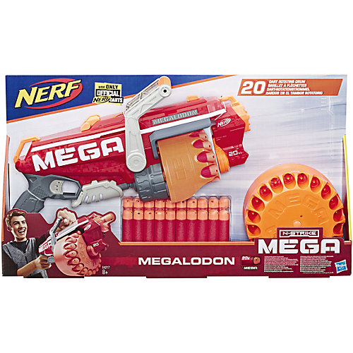 Бластер Nerf Mega Мегалодон от Hasbro