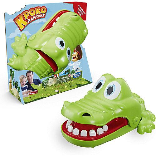 """Настольная игра Hasbro Gaming """"Крокодильчик-Дантист"""" от Hasbro"""