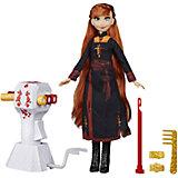 """Игровой набор Disney Princess """"Холодное сердце 2"""" Магия причёсок, Анна"""