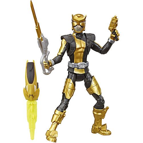 Игровая фигурка Power Rangers Beast Morphers Золотой Рейнджер с боевым ключом, 15 см от Hasbro