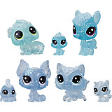 "Набор фигурок Littlest Pet Shop ""Холодное царство"", 7 голубых петов"