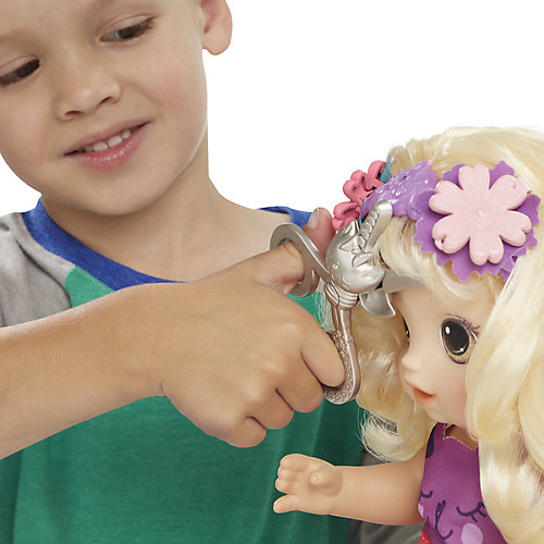 "Интерактивная кукла Baby Alive ""Малышка у парикмахера"" от Hasbro"