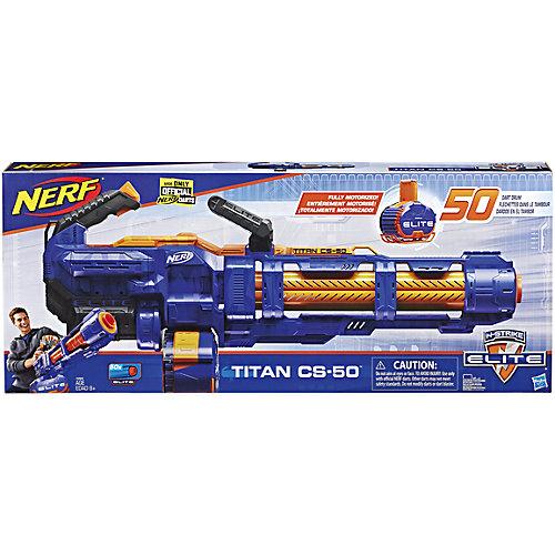 Бластер Nerf Elite Титан от Hasbro