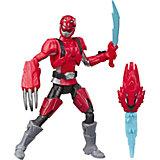 Игровая фигурка Power Rangers Beast Morphers Красный Рейнджер с боевым ключом, 15 см