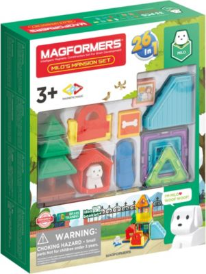Magformers Puppy's Two-Story House Set, MAGFORMERS