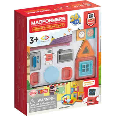 Magformers Minibot's Cooking Kitchen Set