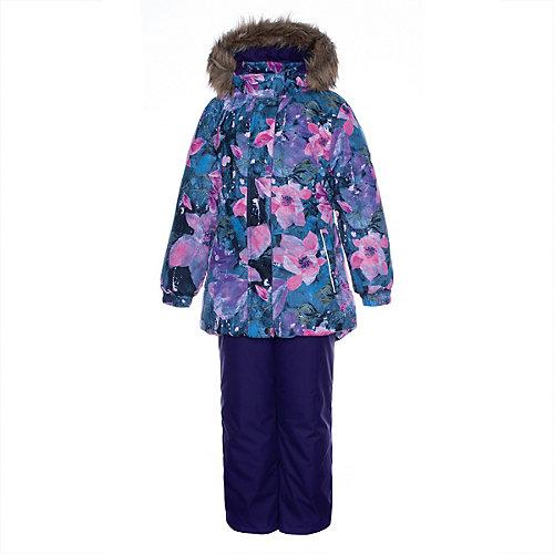 Комплект Huppa Renely 1: куртка и полукомбинезон - лиловый от Huppa