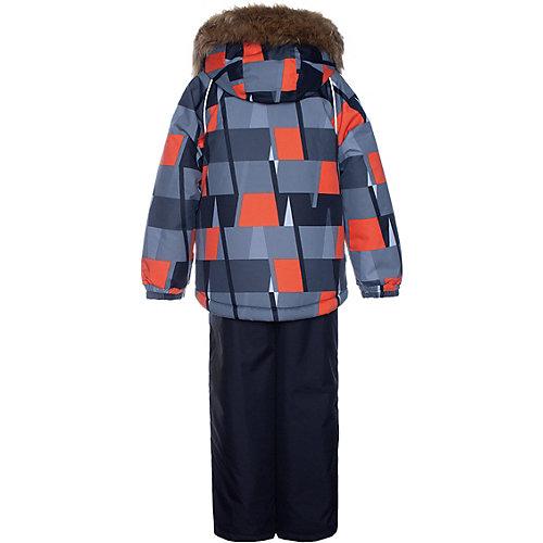 Комплект Huppa Winter: куртка и полукомбинезон - черный от Huppa