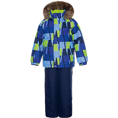 Комплект Huppa Winter: куртка и полукомбинезон - синий от Huppa