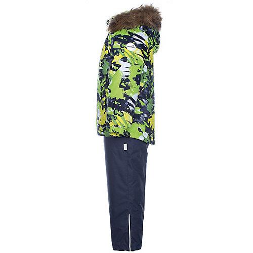 Комплект Huppa Winter: куртка и полукомбинезон - светло-зеленый от Huppa