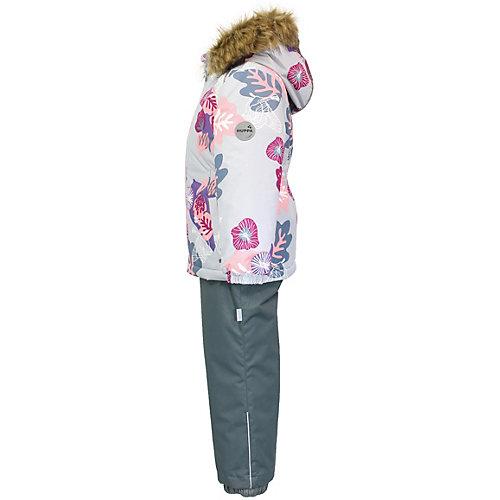 Комплект Huppa Wonder: куртка и полукомбинезон - светло-серый от Huppa