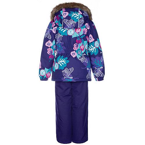 Комплект Huppa Wonder: куртка и полукомбинезон - лиловый от Huppa