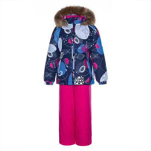 Комплект Huppa Wonder: куртка и полукомбинезон - темно-синий от Huppa