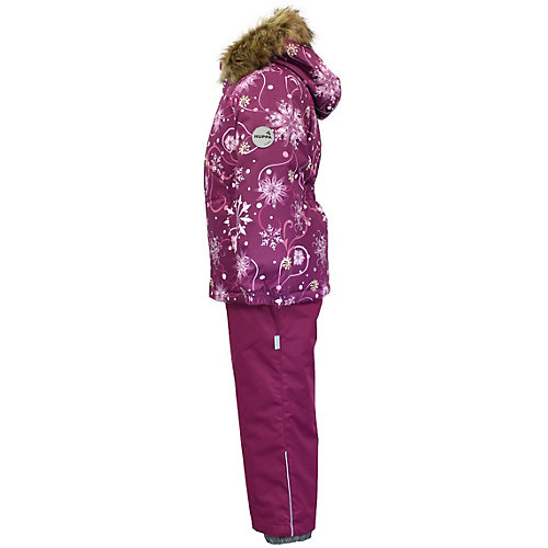 Комплект Huppa Wonder: куртка и полукомбинезон - бордовый от Huppa
