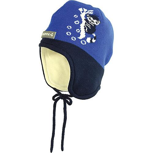 Шапка Huppa Karro 1 - синий от Huppa