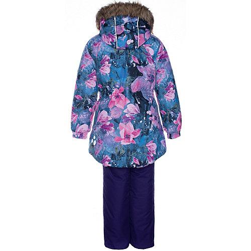 Комплект Huppa Renely: куртка и полукомбинезон - лиловый от Huppa